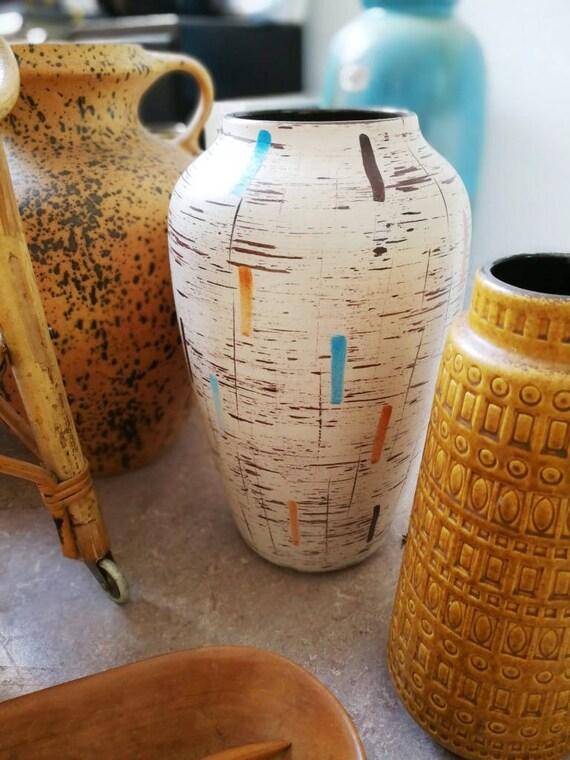 Bodenvase Groß vintage vase groß midcentury 50er bodenvase xl studio