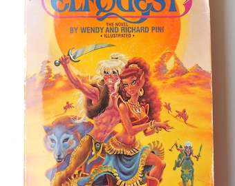 Elfquest  The Novel. First edition print. Journey to Sorrows End.