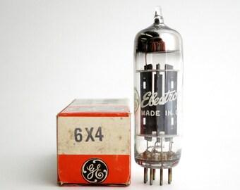 GE 6X4 vacuum tube - original box - new old stock - excellent condition