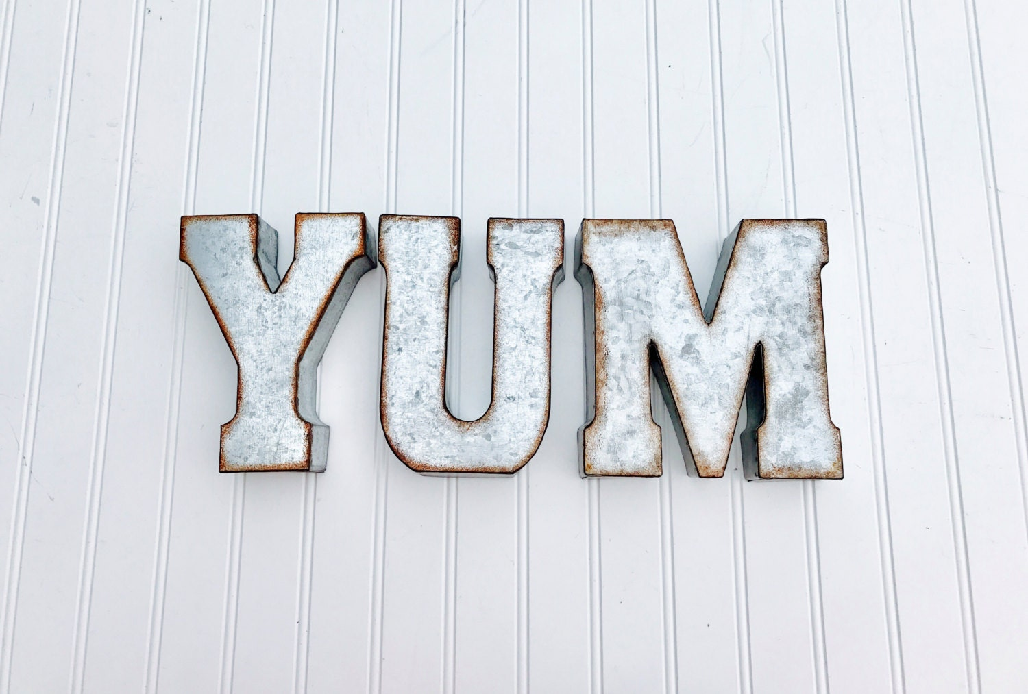 Tin Letter Signs | Wall Plate Design Ideas