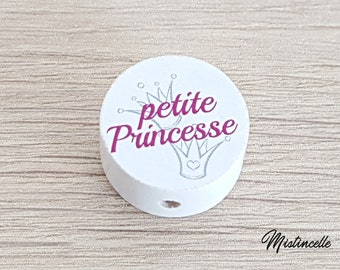 Little Princess wooden bead