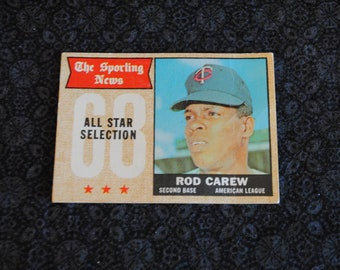 Rod Carew Baseball card by The Sporting News All Star Collection