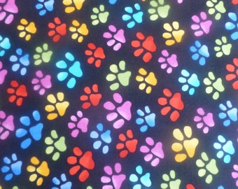 Cool Cats Paws~ by Loralie Designs~Cotton Fabric, Quilt, Home Decor~691796B~Fast Shipping,N226
