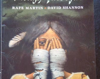 1992 The Rough-Face Girl; Paperback Native American Folktale, Excellent Condition, First Nation Folklore Algonquin Cinderella
