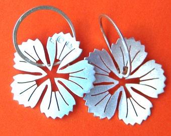 Kanehshon Sterling Silver Earrings