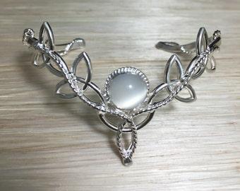 Celtic Silver Bracelet Cuff, Sterling Celtic Bracelet Cuff, Handmade Bracelet Cuffs, Artisan Cuff Bracelets, Bridal Acccessories, Celtic
