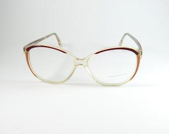 Vintage Eyeglasses, Emme & Effe Optical, Womens Glasses, Vintage Sunglasses, Oversized Glasses, Round Eyeglasses, Womens Sunglasses, NOS
