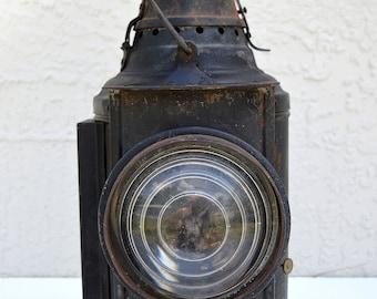 Vintage Dressel Semaphore Railroad Lantern