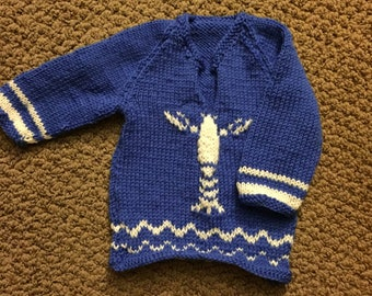 Wind Waker Baby Sweater (made to order)