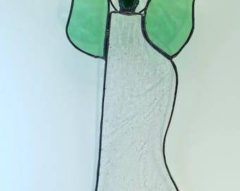 Green Glass Angel