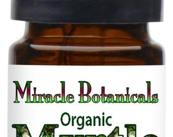 Miracle Botanicals Organic Myrtle Essential Oil - 100% Pure Myrtus Communis....Free US Shipping