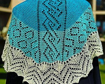 Northern Rose Shawl Pattern