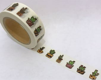 Washi Tape/ Craft Tape- Cactus/ Cacti