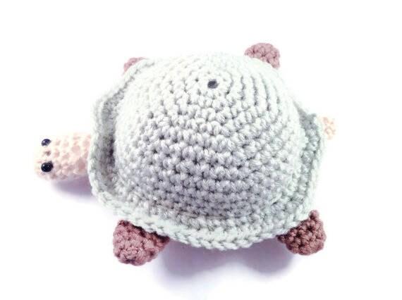 Amigurumi Turtle : Crochet amigurumi turtle turtle plush turtle stuffed animal
