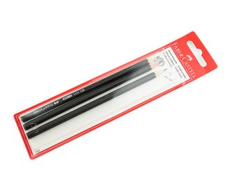 Faber-Castell 1111 HB wooden graphite pencils, 3 pcs. pack