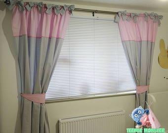 Children/ kids room window curtains