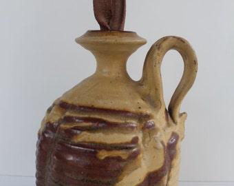 Gourd Shape  Vase with Heavy Texture By Bill Sol.