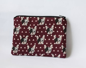 French Bulldog Purse French Bulldog Gifts Dog Purse Dog Coin Purse Animal Pouch Animal Party Dog Lover Gift for Women