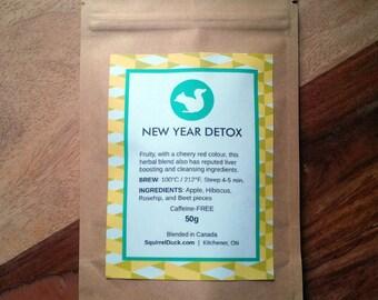 New Year Detox - Herbal Tea