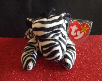 Ziggy the Zebra Beanie Babies Collection Original