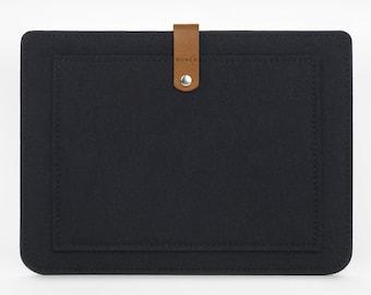 iPad Air Sleeve - iPad Air Case - iPad Cover - iPad Case - Felt Case - Leather Cover