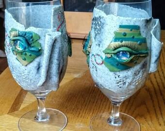 Creepy Lager Glasses