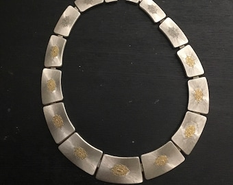 Buccellati Geminato Panel Necklace