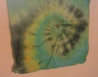 Tie Dye Bandana/Kerchief/Mini Tapestry