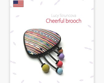 Cheerful brooch - guide by Lucy [EN]