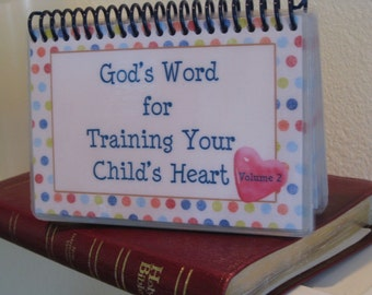 God's Word for Training Your Child's Heart - Volume 2, Spiral-Bound, Laminated Cards