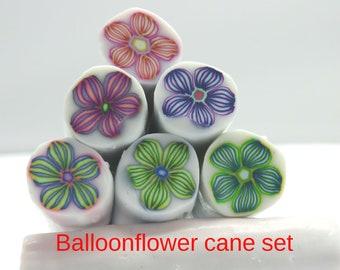 Balloonflower Cane set
