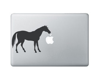 Horse Laptop Decal - Horse Macbook Decal - Laptop Sticker