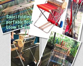 Saori Piccolo 40 loom adjustable height 15  loom physically in stock ready to ship no waiting or pick up at my studio today :saorisantacruz