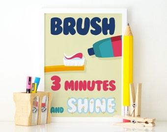 Poster rules for children Digital Art, Wall decor