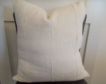 assorted sizes African Mudcloth off White mud cloth pillow cover