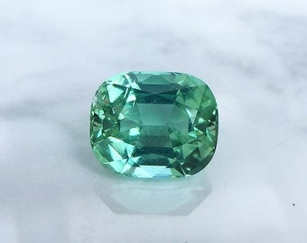 1.30ct. - Neon mint Tourmaline. so shiny and brilliant in daylight. Totally love them!!