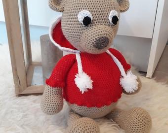 Christmas crochet - Amigurumi bear