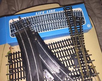 Assorted Life Like Train Tracks Lot
