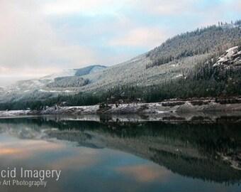 Washington State winter reflection-8x10