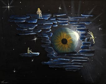 The Minds Eye, Limited Edition Print from original painting.