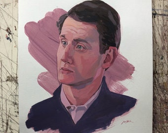 """Original Painting -Jared from """"Silicon Valley"""""""