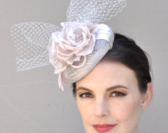 Kentucky Derby fascinator, Wedding fascinator hat, Derby fascinator hat, Ascot hat