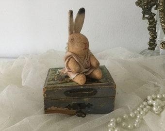 SOLD!!! ... Don't buy!.... 2. LAYAWAY for a.!  Bunny Doll bunny rabbit Teddy Bunny Bunny Ostern1900 * Easter * nostalgia * Shabbychic *
