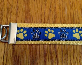 Dog Paw Key Fob