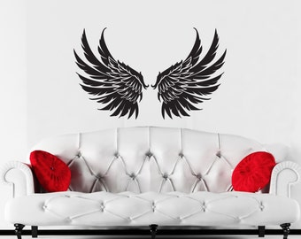 Wings wall decal set1