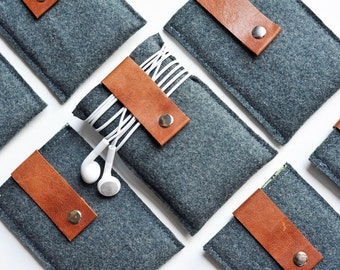 Gadget Case - Recyled Wool