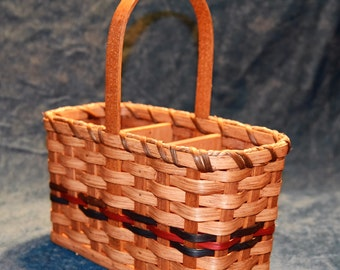 Amish Handmade Silverware Basket