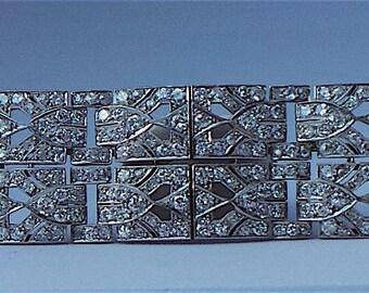 Stunning Art Deco Diamond Brooch