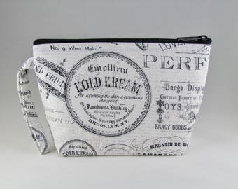 Parisian Makeup Bag - Accessory - Cosmetic Bag - Pouch - Toiletry Bag - Gift