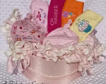 Baby Girl Gift Basket, Baby Gift Basket, Baby Girl Shower Gift, Baby Shower Gift, Baby clothing, Infant clothing, girl clothing, shower gift
